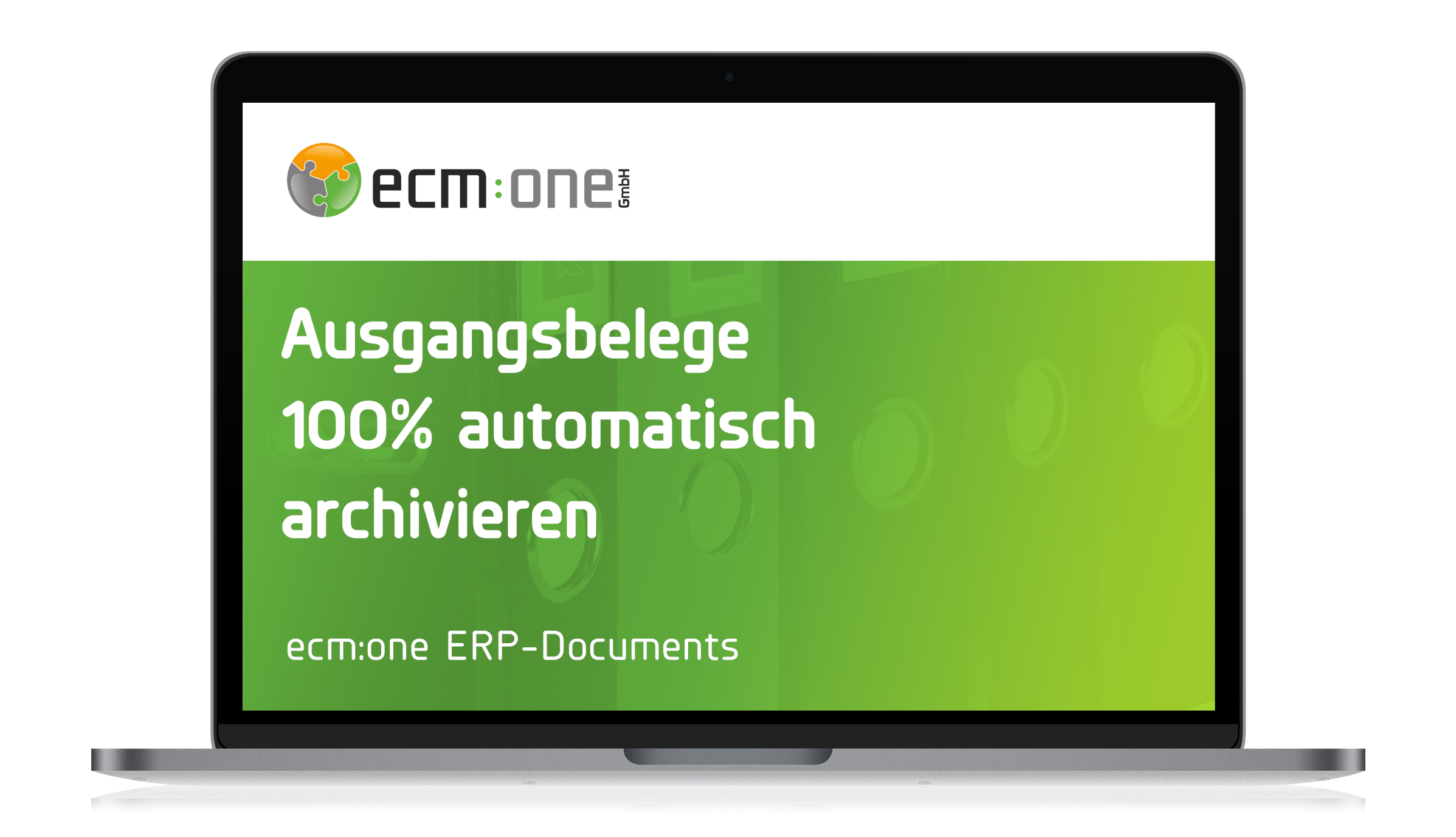 ecm:one ERP documents