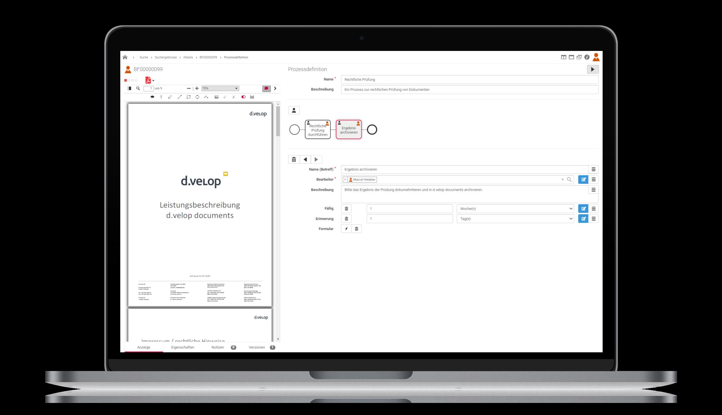 d.velop documents – Einfache Workflows gestalten und ausführen