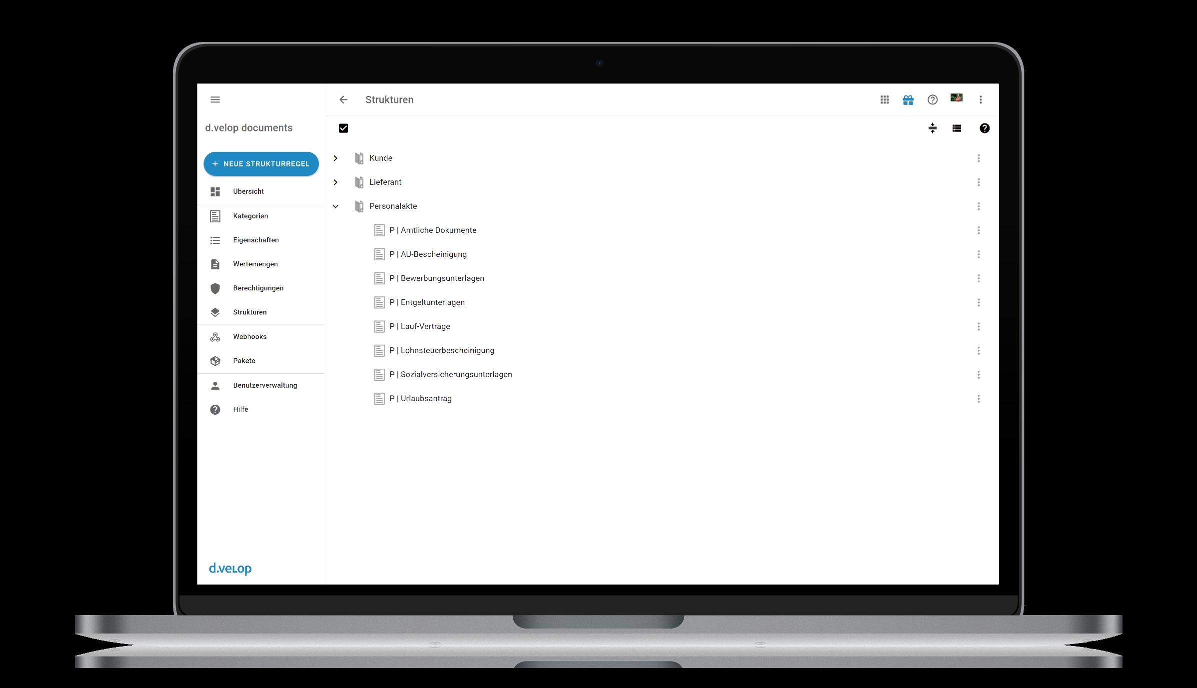 ecm:one Digitale Personalakte für DATEV