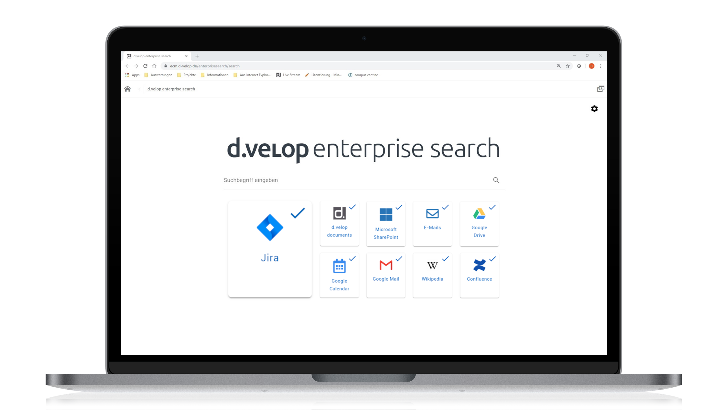 d.velop enterprise search for Atlassian Jira