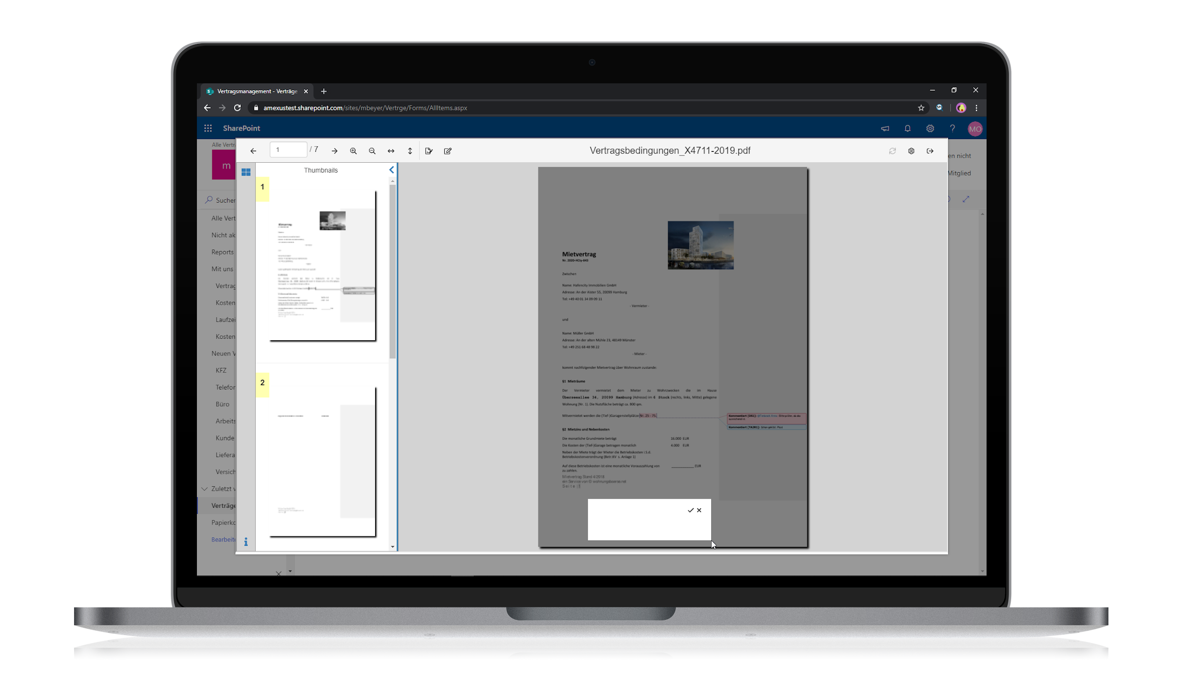 amxSIGN for Office 365