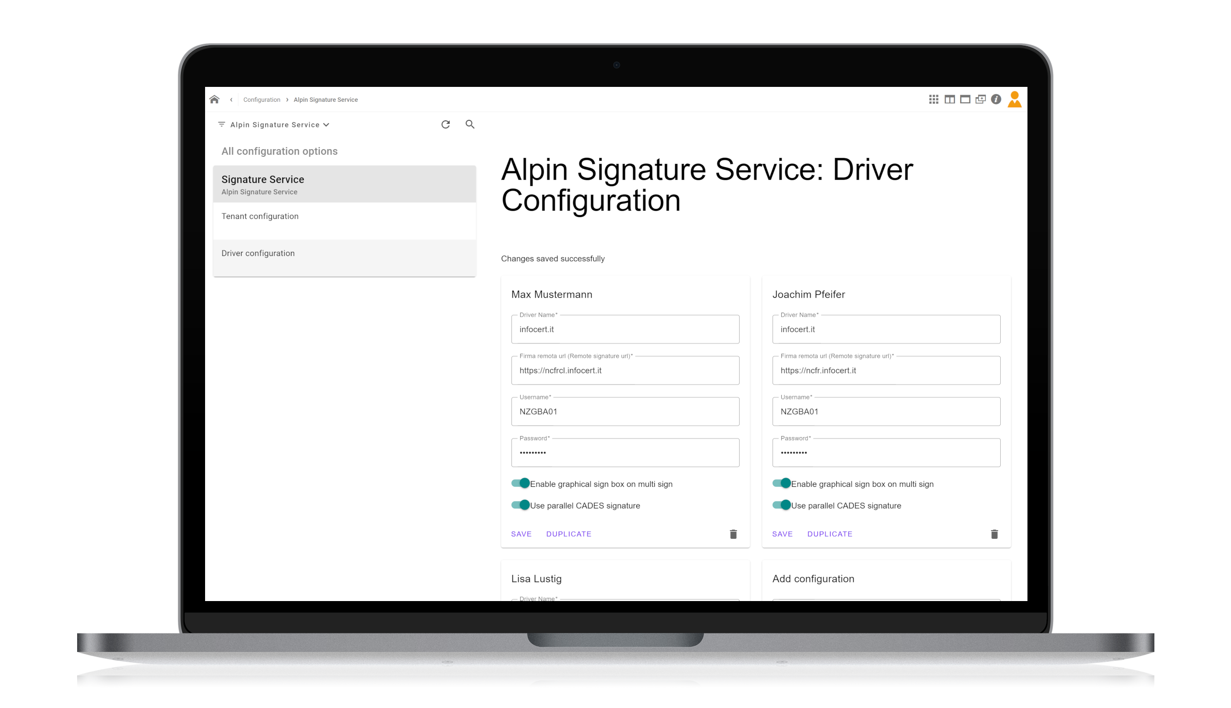 Alpin | Signature App for d.velop documents