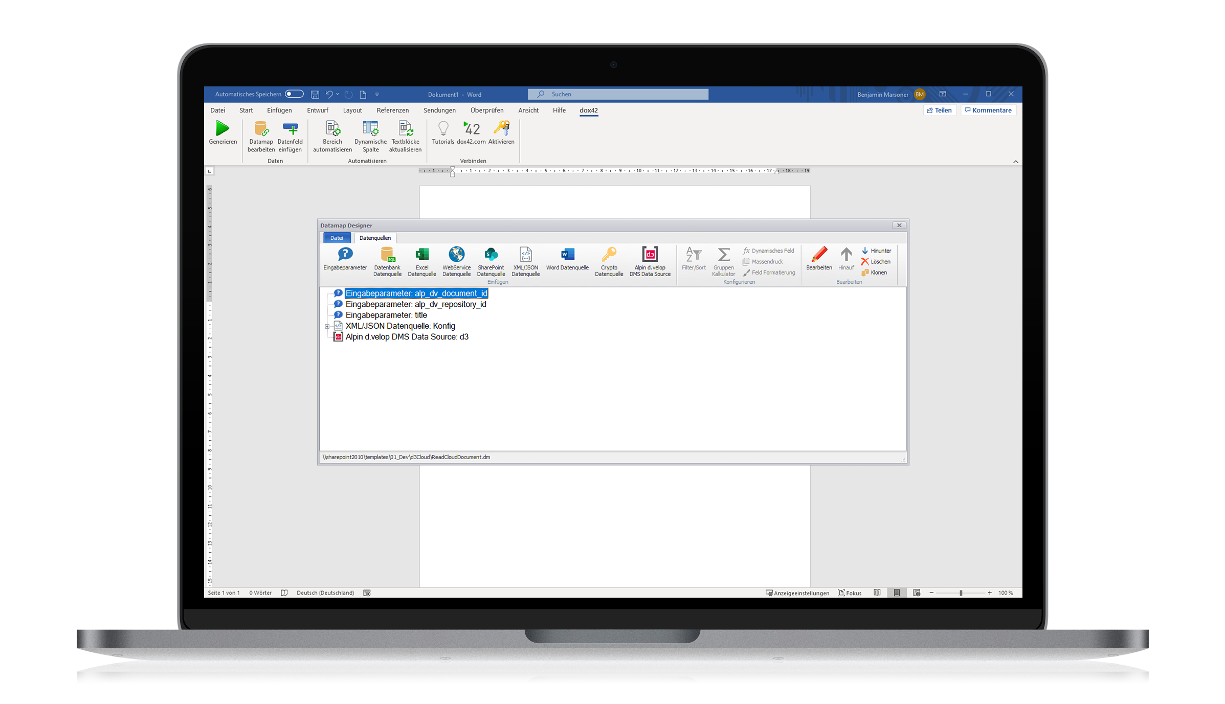 Alpin   dox42 App for d.velop documents