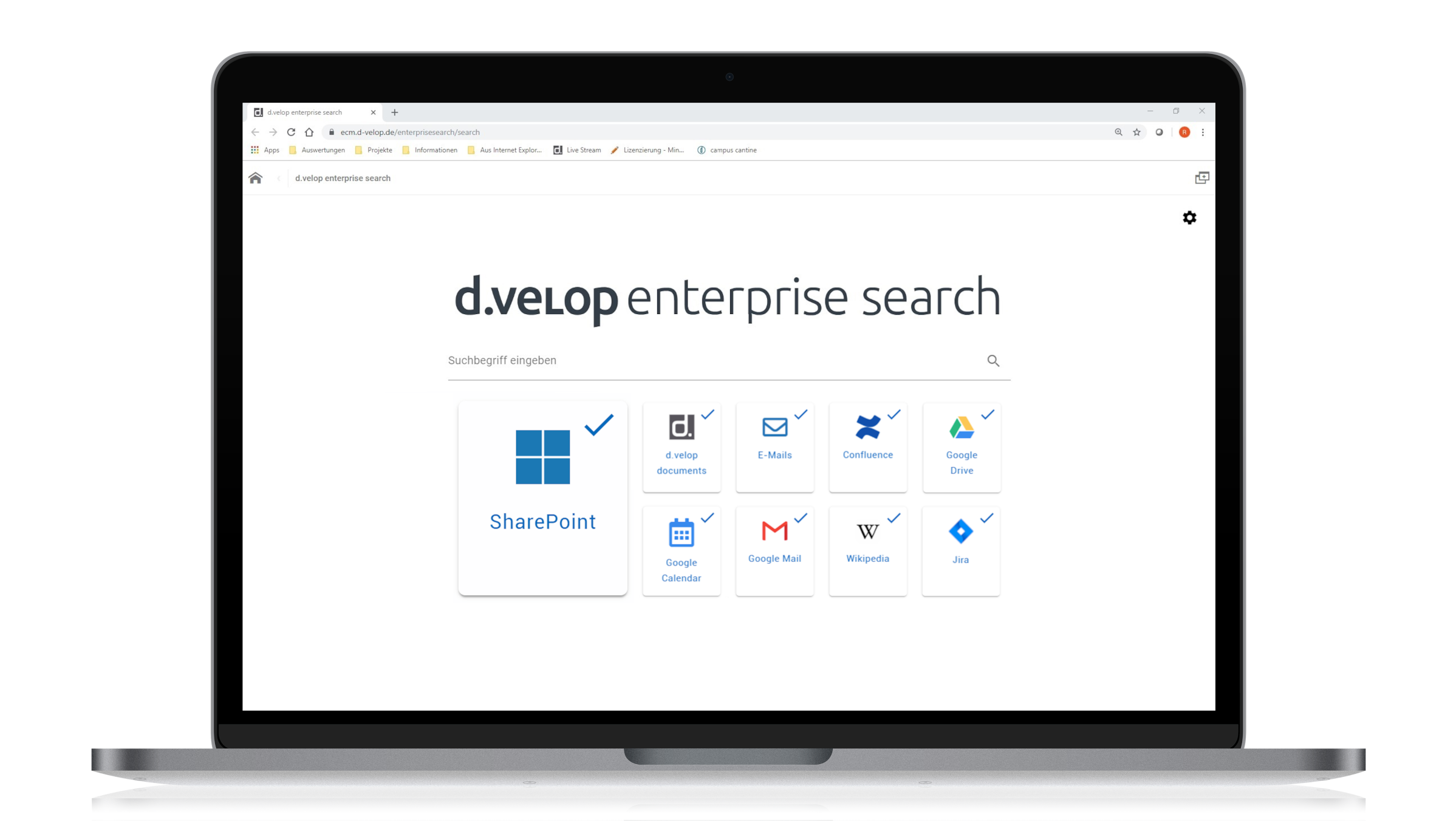 d.velop enterprise search for SharePoint Online
