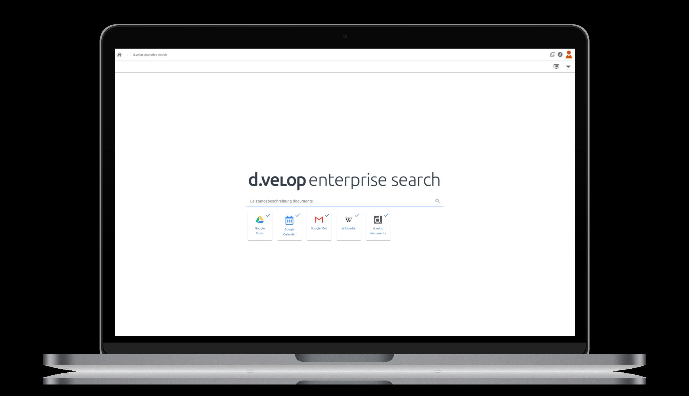 d.velop documents – Unternehmensweite Suche
