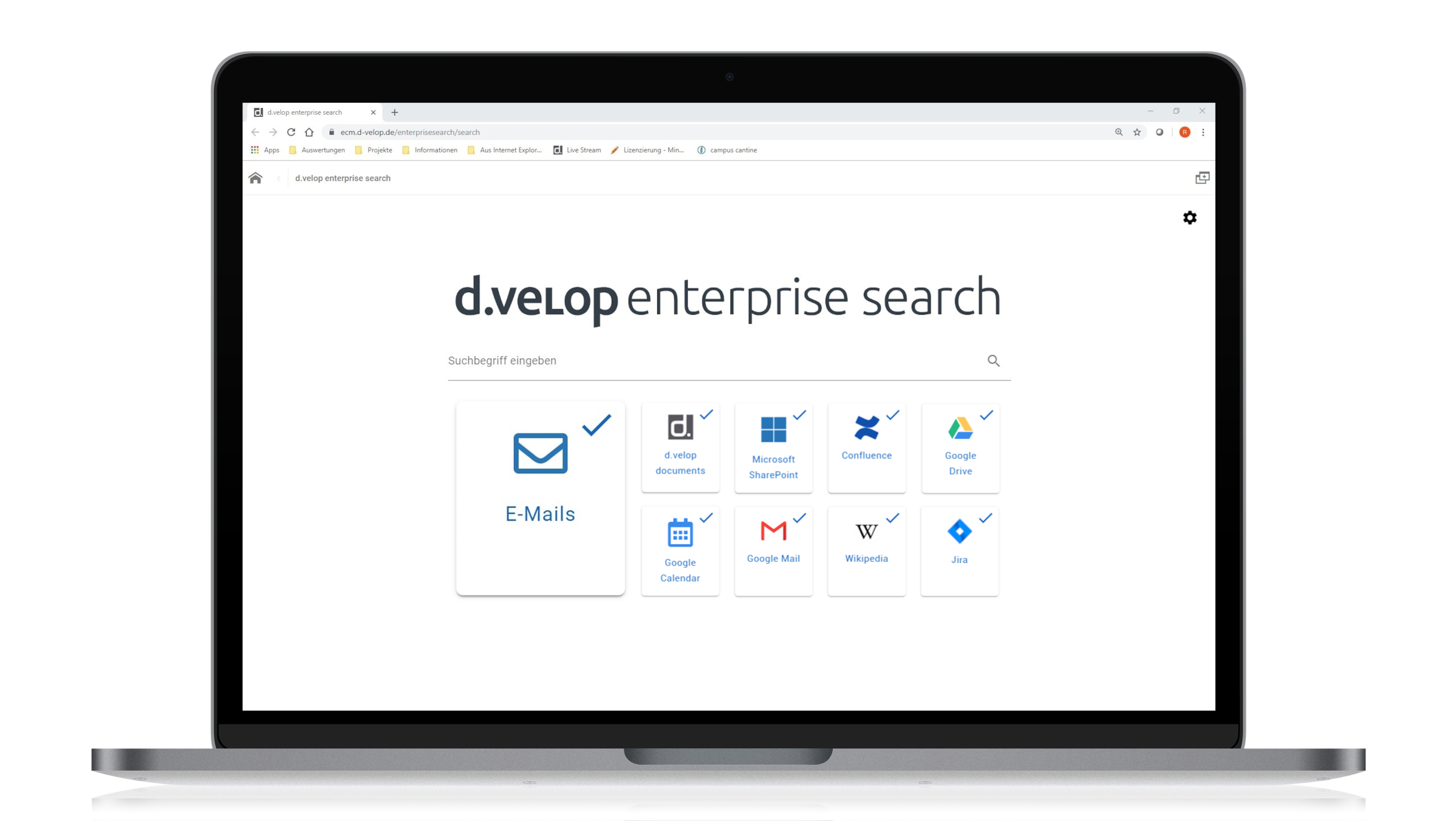 d.velop enterprise search for Microsoft Exchange