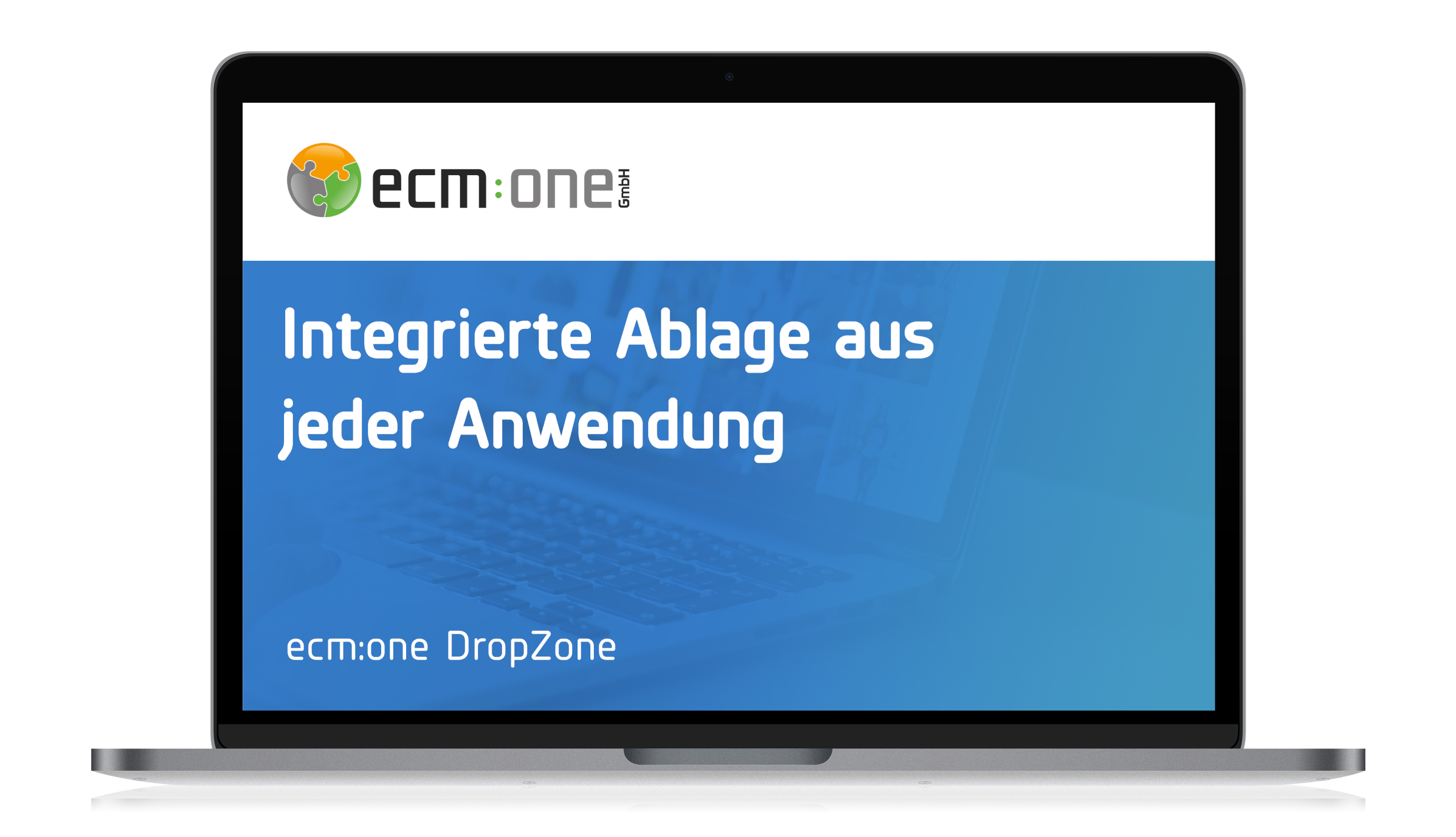 ecm:one DropZone
