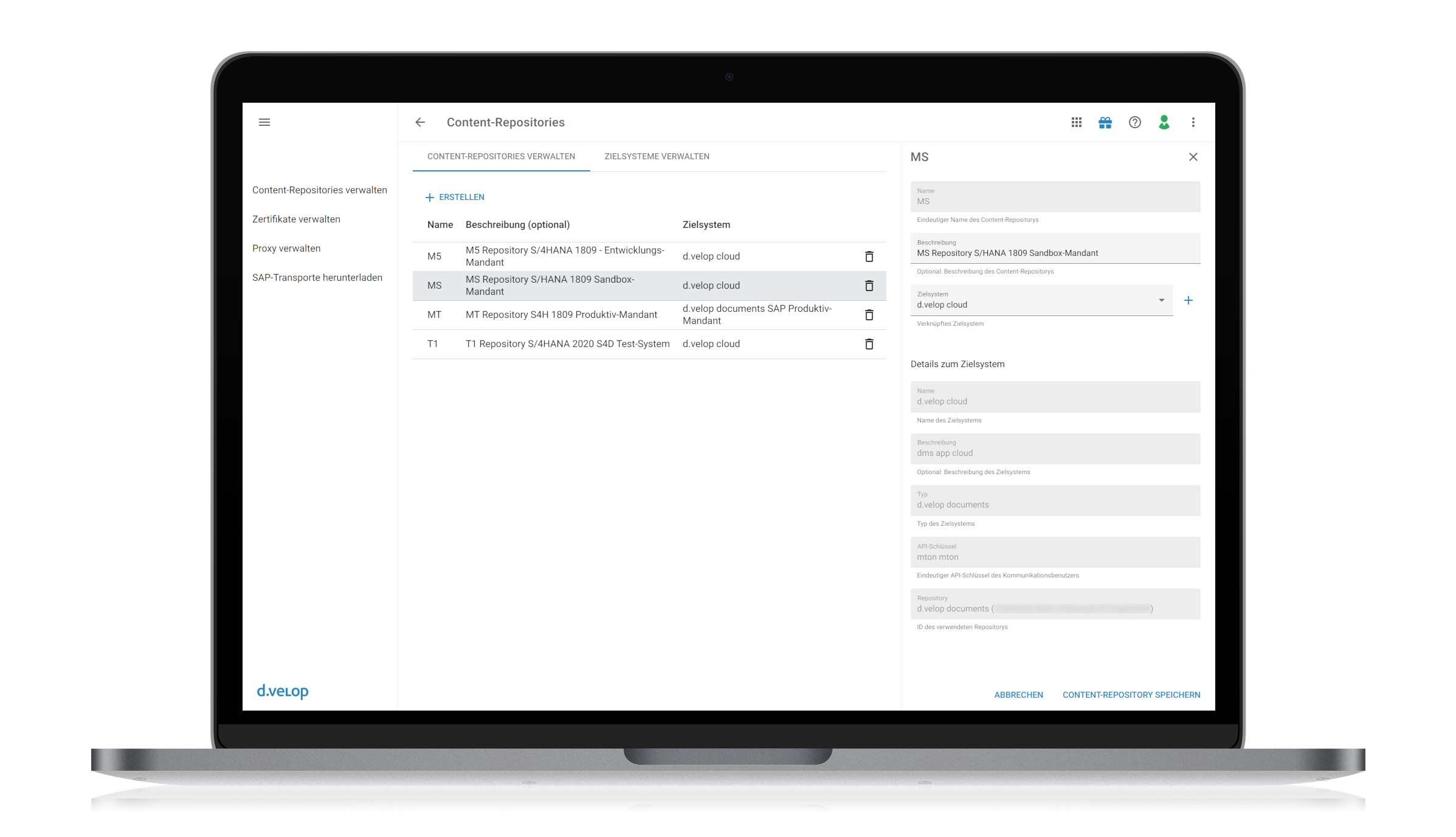 d.velop archivelink for SAP Solutions