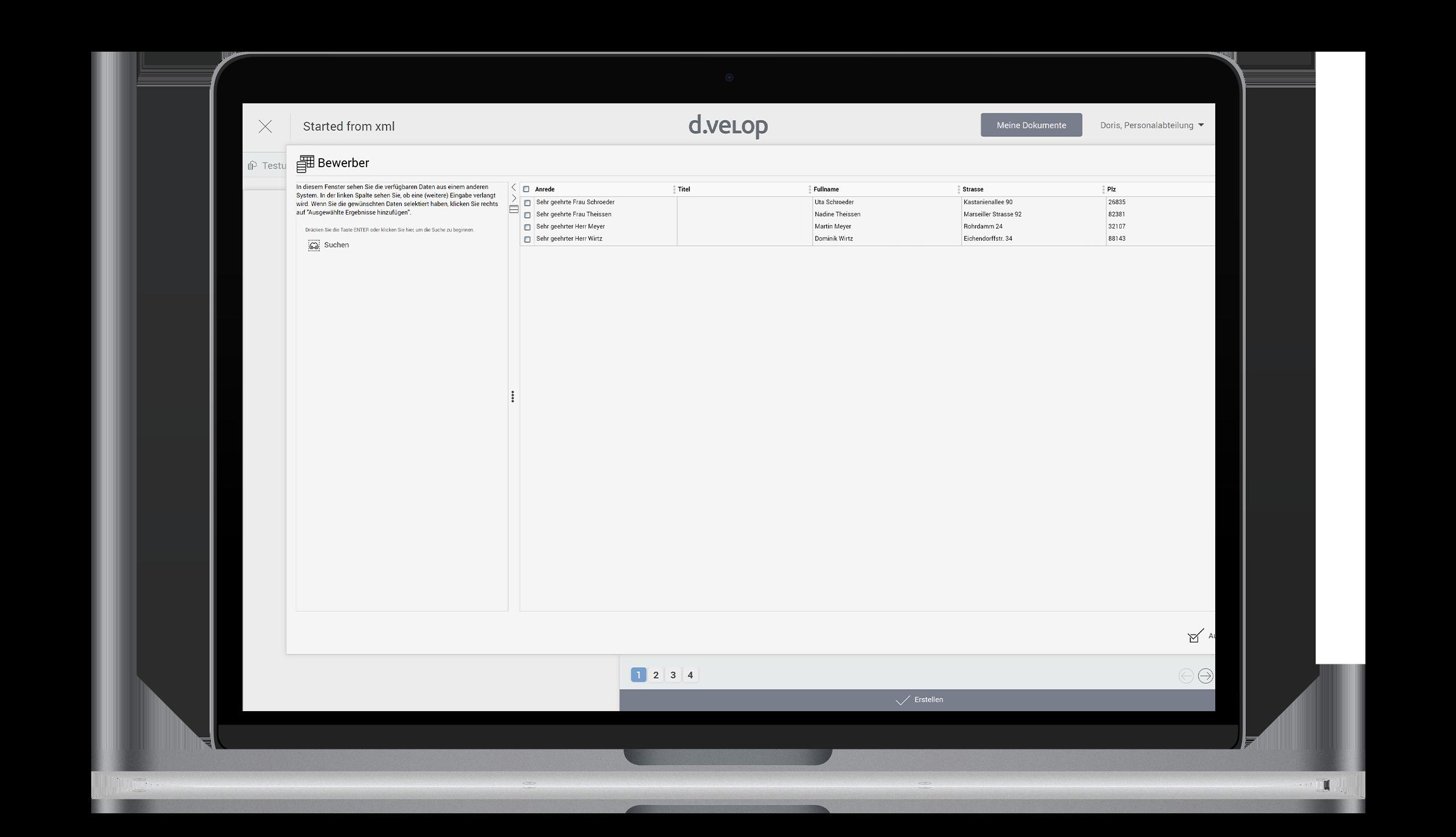 d.velop template management