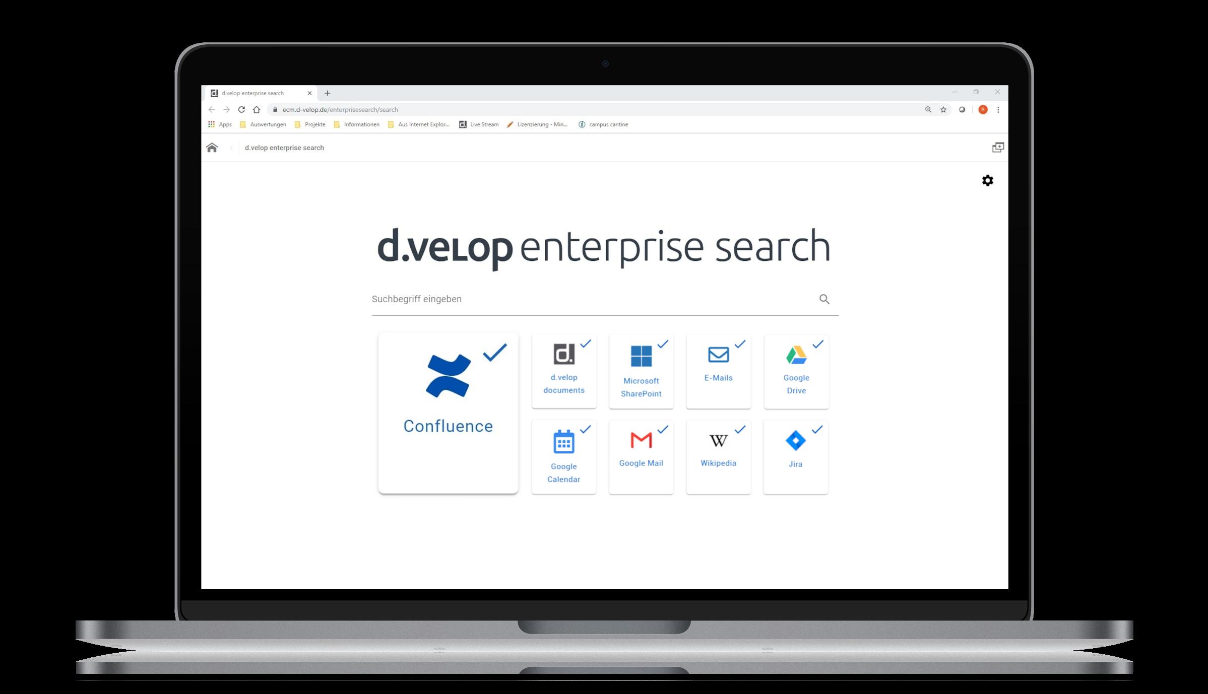 d.velop enterprise search for Atlassian Confluence